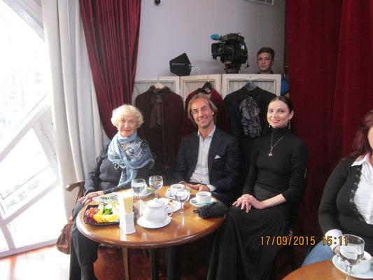 Татьяна Пилецкая, Фабио Мастранджело и Юлия Махалина