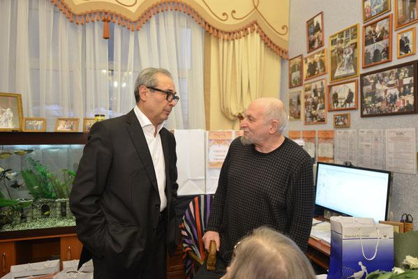 Валерий Фокин и Кама Гинкас