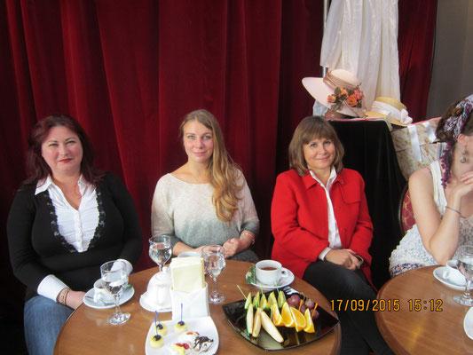 Валерия Наумчик, Ольга Семенова и Марина Панфилович