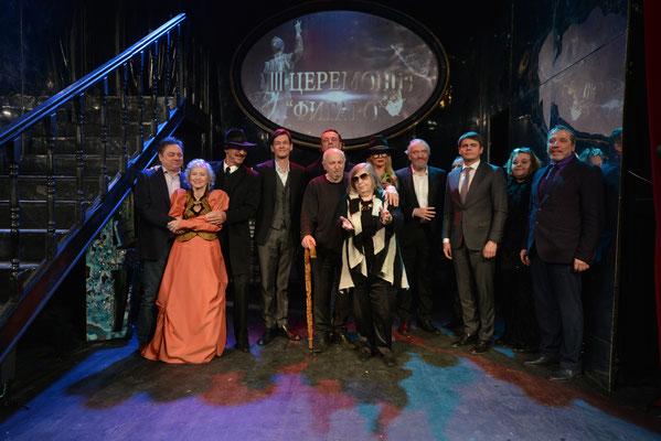 """Лауреаты премии """"Фигаро"""" 2018 года. Прекрасные и разные. Они делают нашу культуры и театр осмысленной и великой. Будущее поколении рядом."""