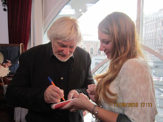 Автограф в подарок. Владимир Васильев и Ольга Семенова