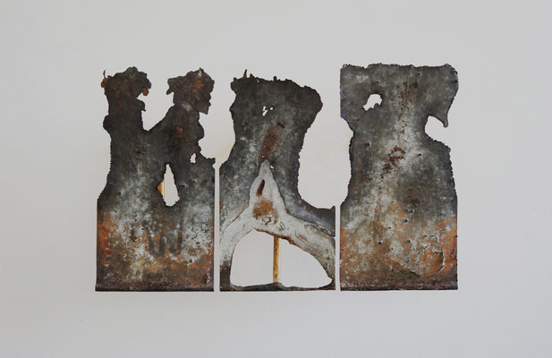 Error and Try 04, 2019, Bronze, 60 x35x10cm