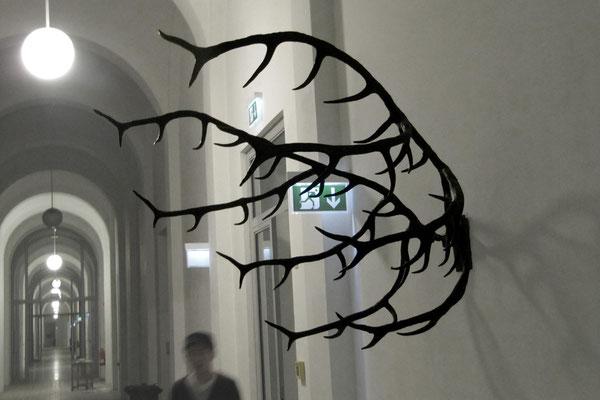 Fünfzigender 2012, Wachs, 150x200x150cm