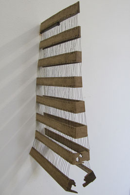 Reuse 2012, Eiche Draht, 50x30x10cm