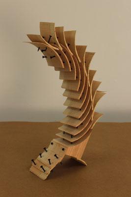 Pragmatismus, 2015, Holz, 10x20x50cm