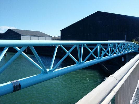 浦戸新橋水管橋