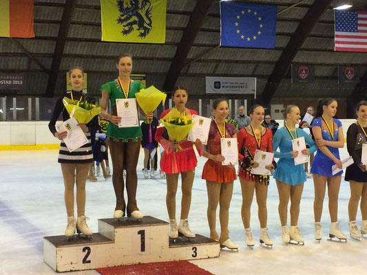 Daphne Reumers 5de op het Vlaams Kampioenschap 2016.