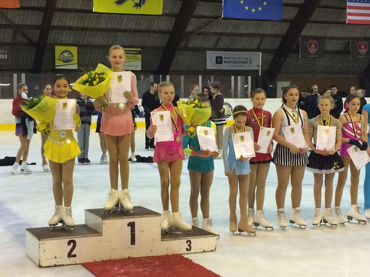 Julie Mertens 6de op het Vlaams Kampioenschap 2016.