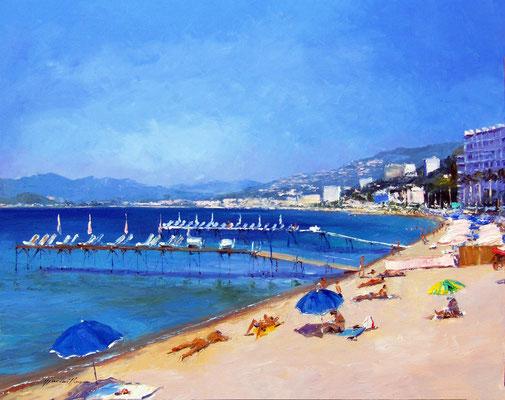 Baie de Cannes  92 X 73 cm