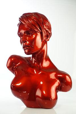 Yulia - Résine nacrée  H 53 cm