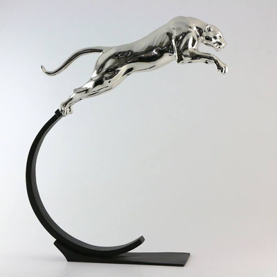 Le Saut - Bronze chrome 54 X 50 X 11 cm