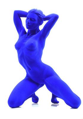 Nadia II - Résine bleue
