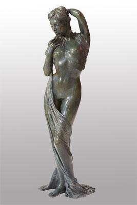 Eve drappée - Bronze  H 56,5 cm