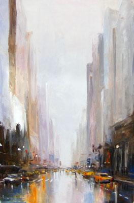 New York 2 - 92 X 60 cm