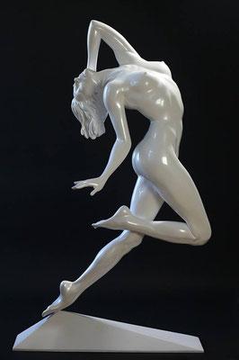 Rêves de liberté - Résine nacrée  H 170 cm
