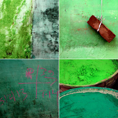 Verts indiens - photo 60 X 60 cm