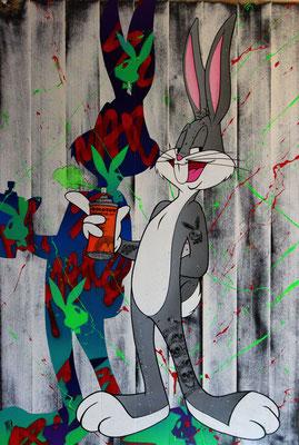 Bug Bunny  100 X 67 cm