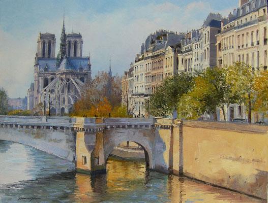 Pont de la Tournelle  116 X 89 cm