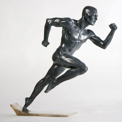Le Temps - Bronze  H 46 X 52 cm