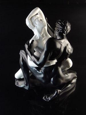 Harmonie - Résine  H 39 X 31 X 26 cm