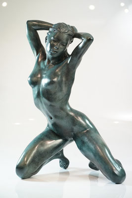 Nadia II - Bronze  H 57 cm