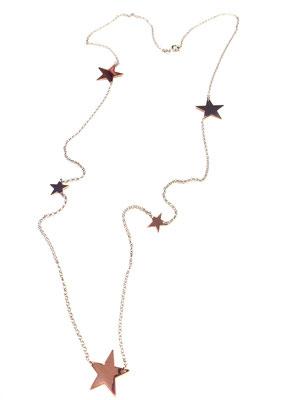 Collana lunga con stelle