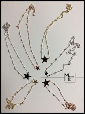 Collane corte stelle