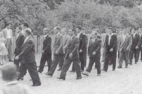Vorstandschaft 1959