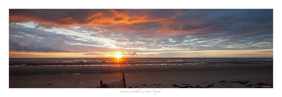 PCO N° 33 coucher de soleil à Fort mahon
