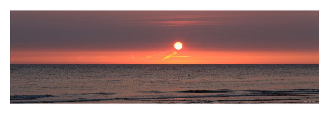 """PCO N° 18 coucher de soleil """"""""A """""""" Fort mahon"""