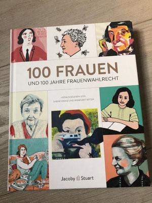 Cover  100 Frauen und 100 Jahre Frauenwahlrecht