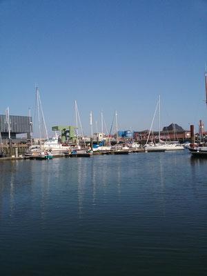 Aussicht in der City Marina.