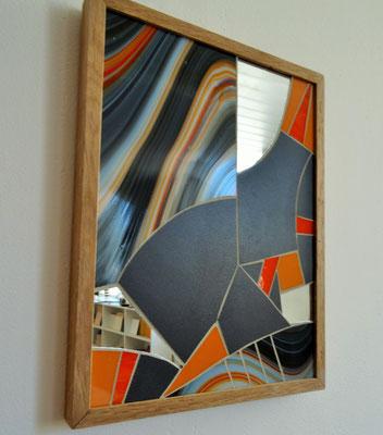 24x32 cm // Zam-création // Mouvement tellurique #3