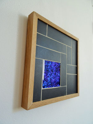 22x22 cm // Zam-création // Miroir Van Gogh #2
