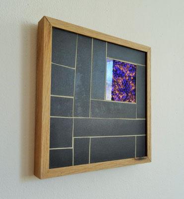 22x22 cm // Zam-création // Miroir Van Gogh #1