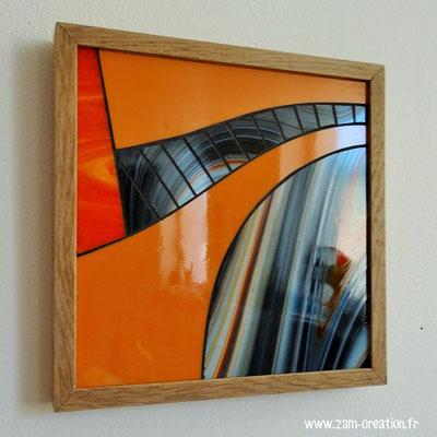 22x22 cm // Zam-création // Mouvement tellurique #1