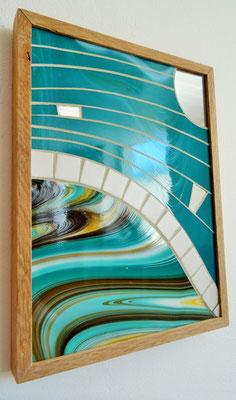 24x32 cm // Zam-création // Mouvement aquatique #2