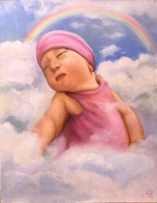 Baby Öl-Gemälde