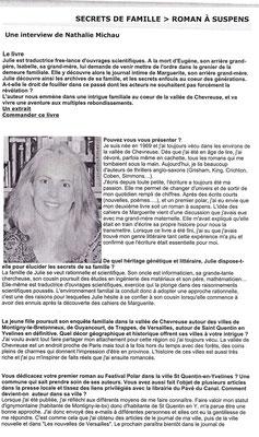 Le manuscrit - Janvier 2005 - Page 1