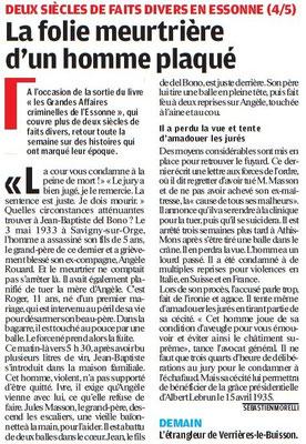 Parisien édition Essonne - 8 juillet 2011