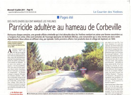 Le courrier des Yvelines - 13 juillet 2011 - page 1