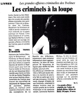 Les nouvelles de Versailles - Juillet 2008