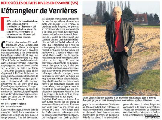 Parisien édition Essonne - 9 juillet 2011