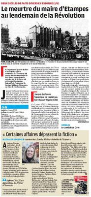 Parisien édition Essonne - 4 juillet 2011