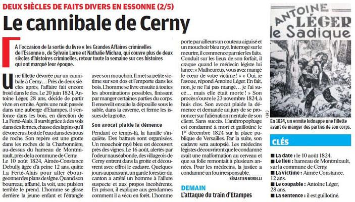 Parisien édition Essonne - 6 juillet 2011