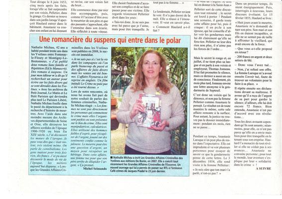 Le courrier des Yvelines - 20 juillet 2011 - page 2