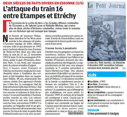 Parisien édition Essonne - 7 juillet 2011