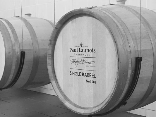 """Single Barrel"" champagne first edition in 2016 