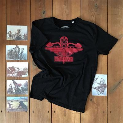 Motor Circus T-Shirt Red Rider