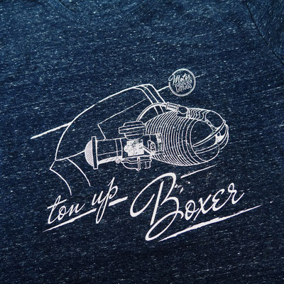 Ton Up Boxer by Motor Circus